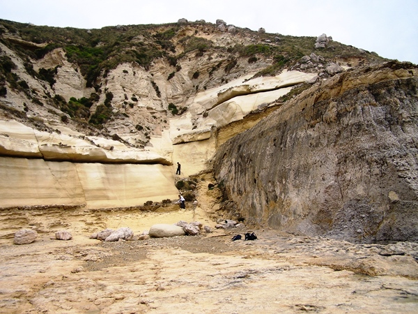 Malta fault zone photo